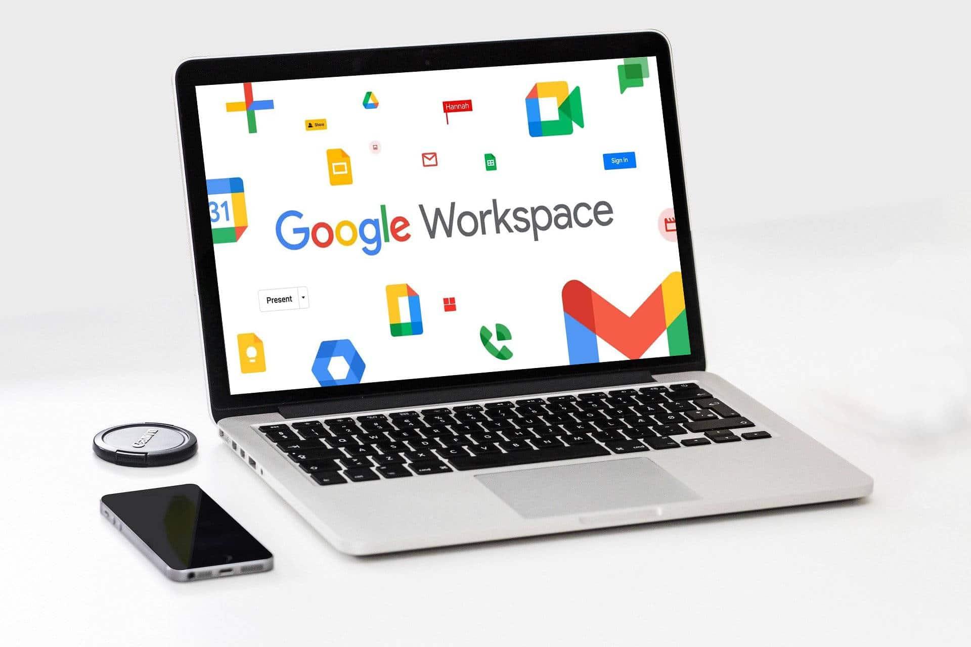 Logiciel CRM connecté à Google Workspace (ex-G Suite)
