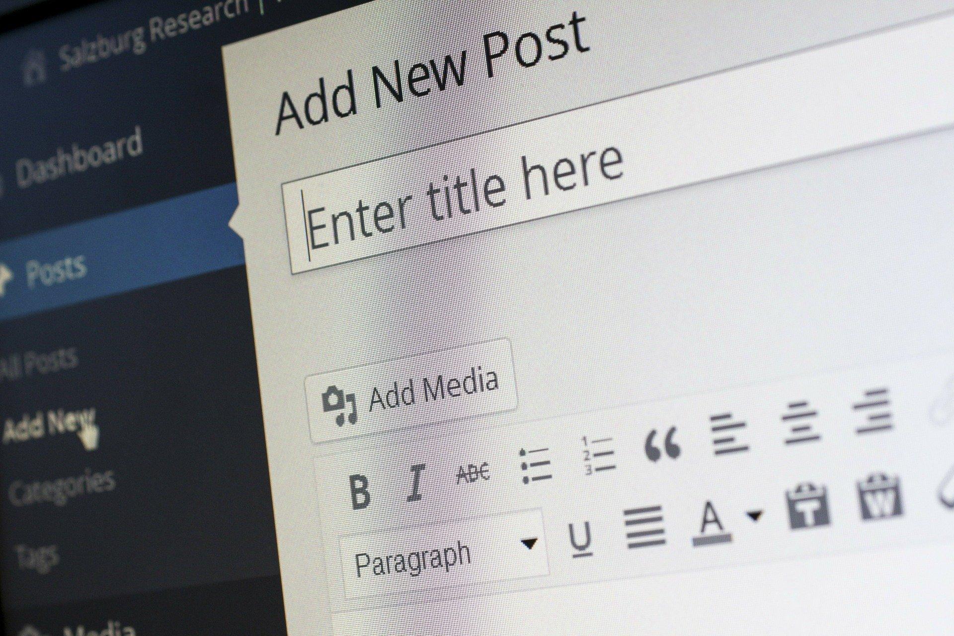 Logiciel CRM connecté à WordPress